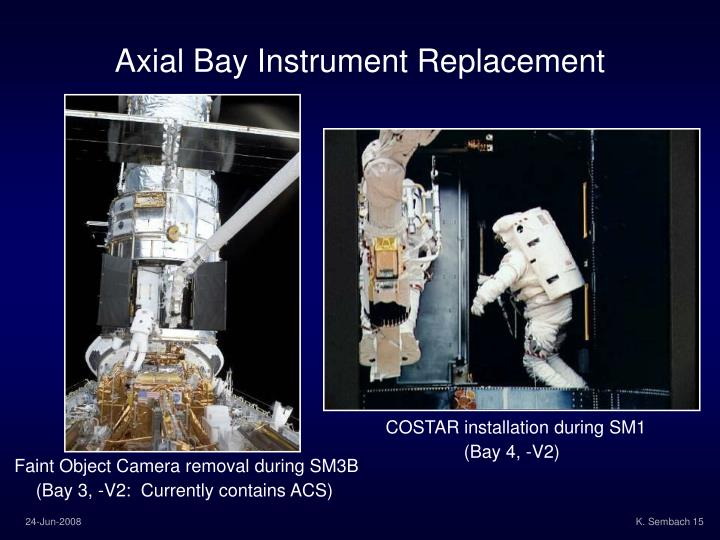 Axial Bay Instrument Replacement