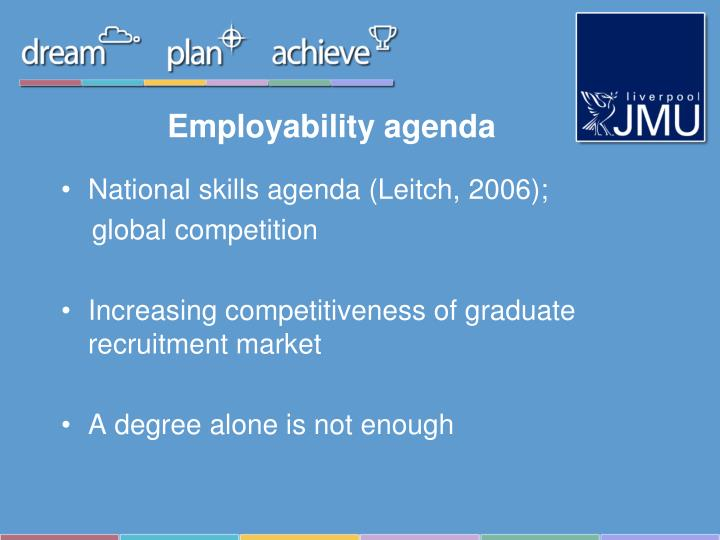 Employability agenda