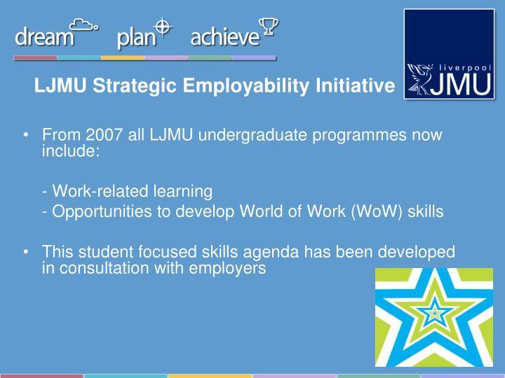 LJMU Strategic Employability Initiative