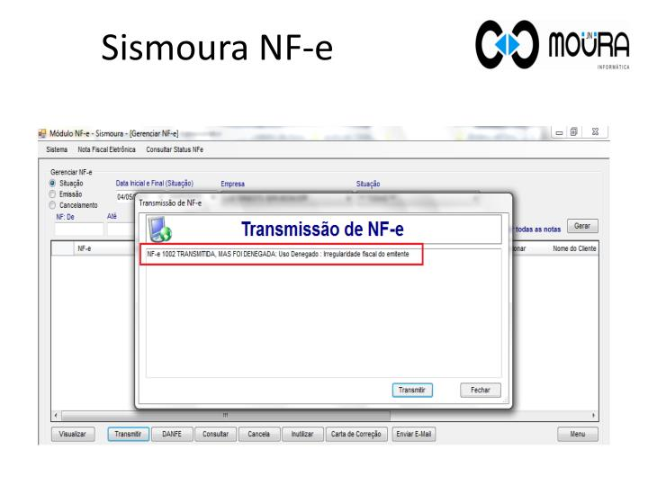 Sismoura NF-e