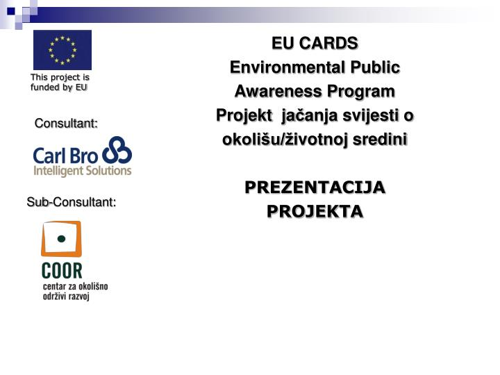 This project is funded by EU