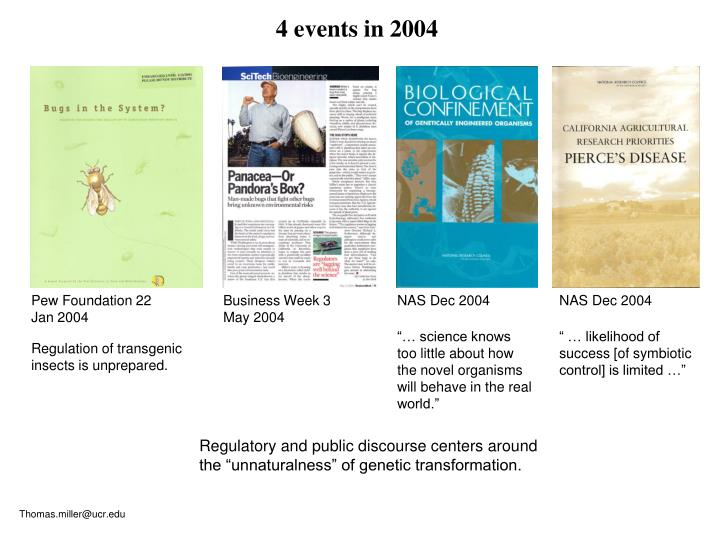 4 events in 2004
