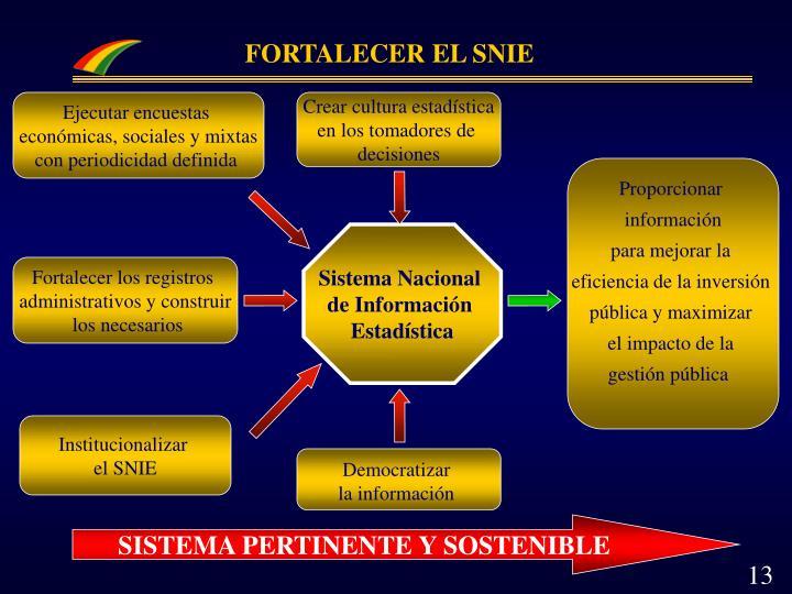 FORTALECER EL SNIE
