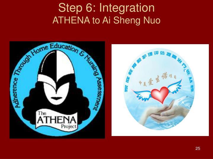 Step 6: Integration