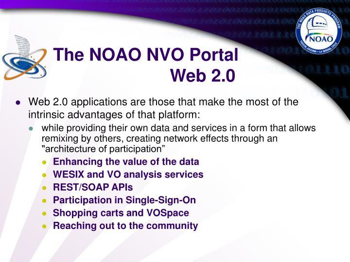 The NOAO NVO Portal