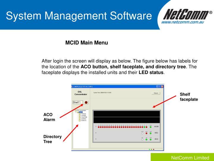 System Management Software