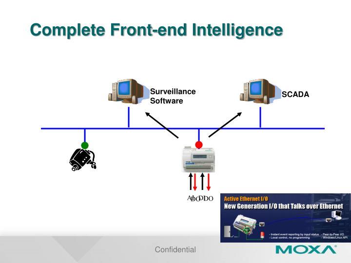 Complete Front-end Intelligence