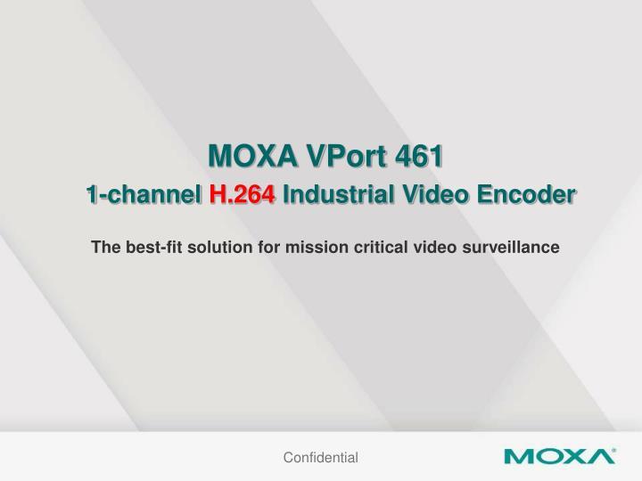 MOXA VPort 461
