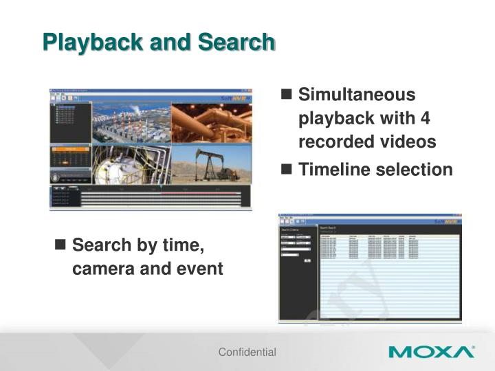 Playback and Search