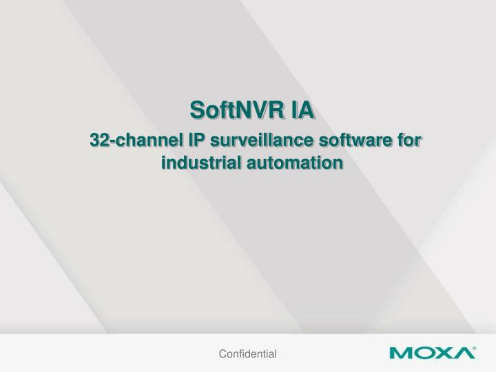 SoftNVR IA