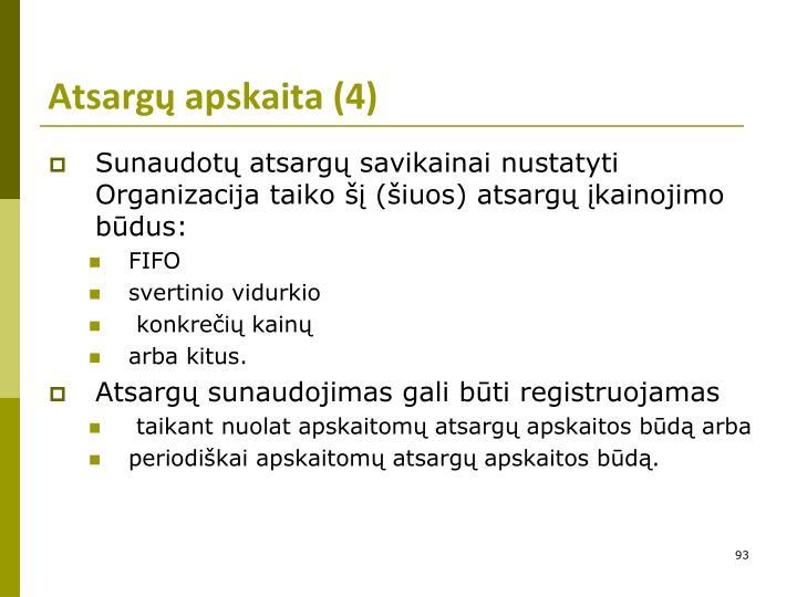 Atsargų apskaita (4)