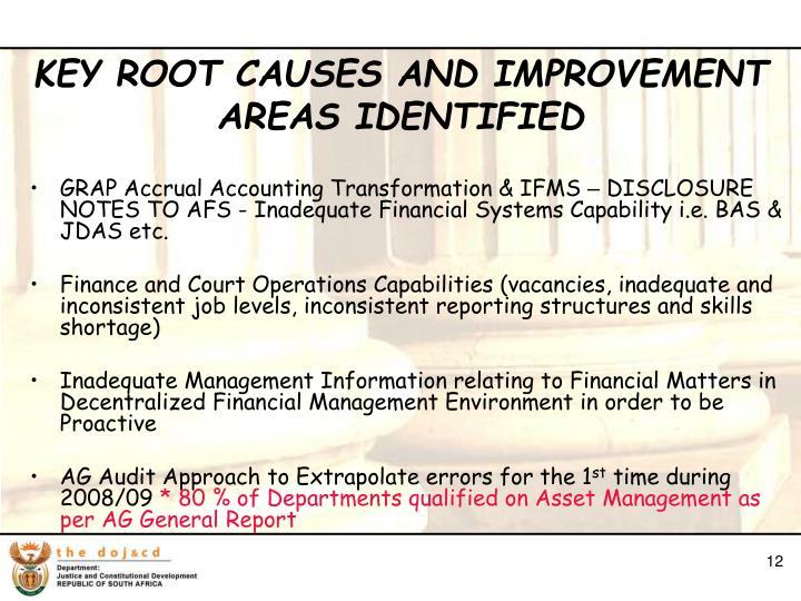 GRAP Accrual Accounting Transformation & IFMS