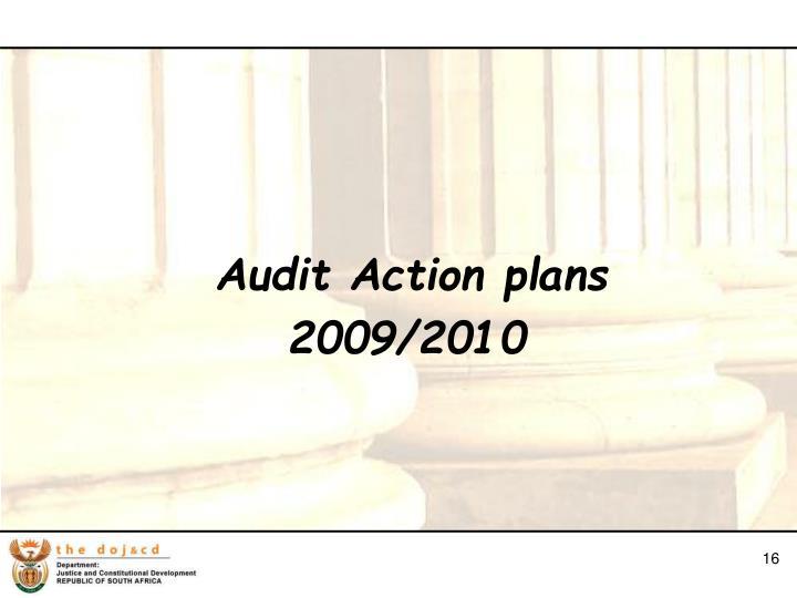 Audit Action plans