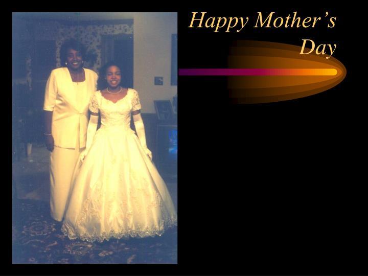 Happy Mother's