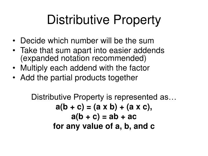 Distributive property2