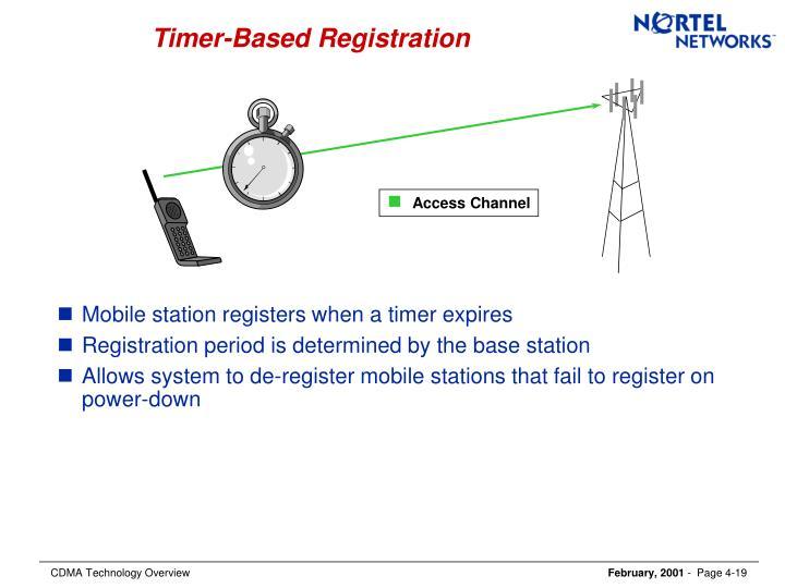 Timer-Based Registration