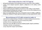 main technical objectives of the t 15 upgrade