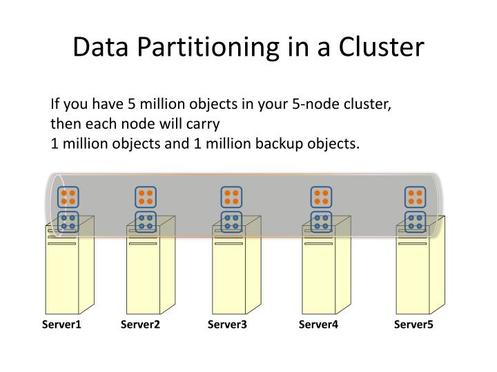 Data Partitioning in a Cluster