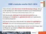 dsb s instruks overfor dle i 20144
