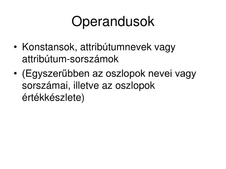 Operandusok