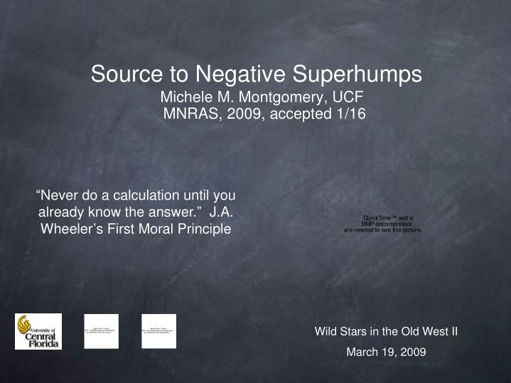 source to negative superhumps n.