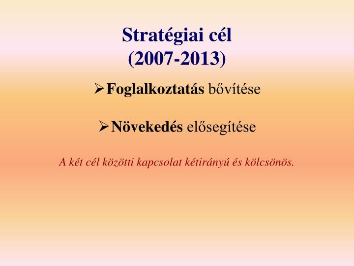 Stratégiai cél