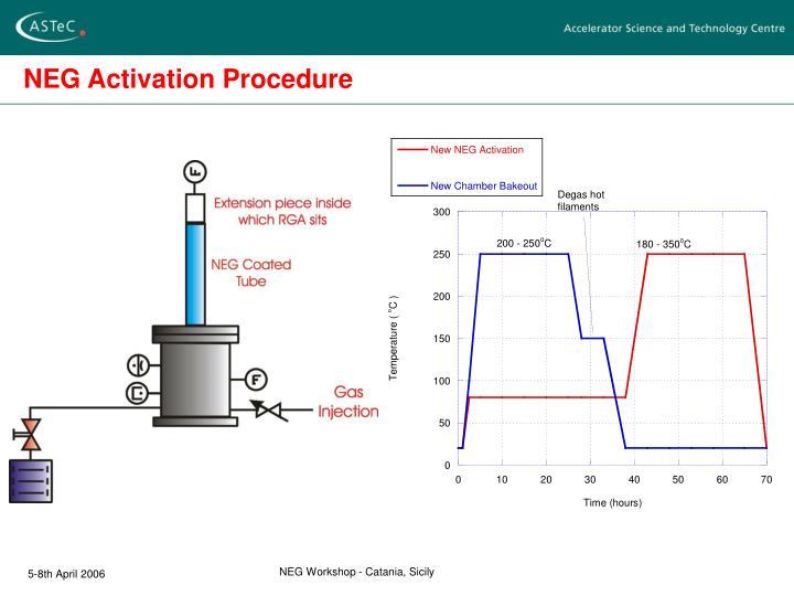NEG Activation Procedure