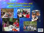 harlem outreaches and after school programs