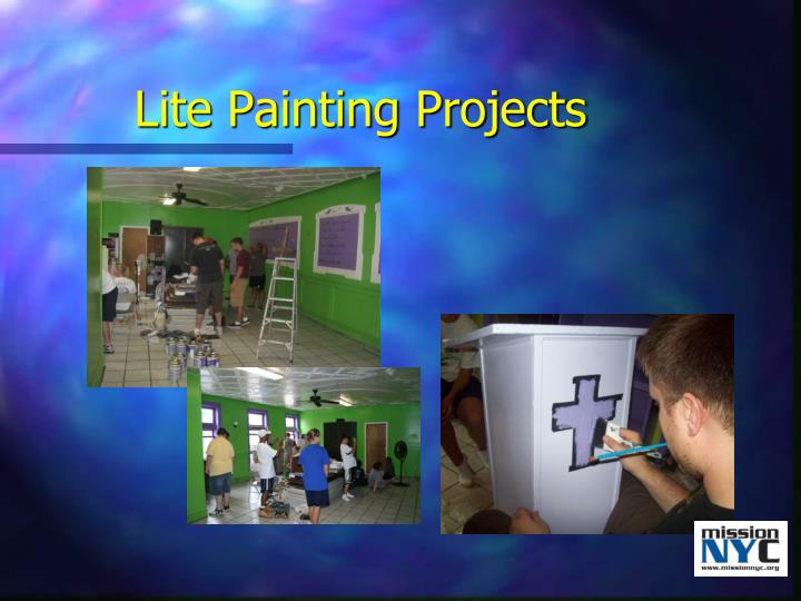 Lite Painting Projects