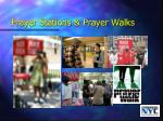 prayer stations prayer walks