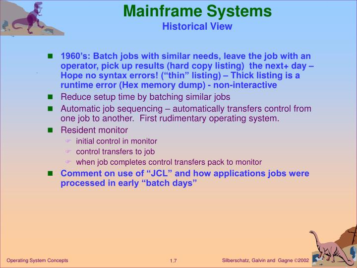 Mainframe Systems