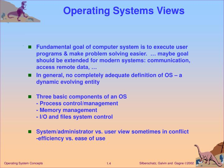 Operating Systems Views