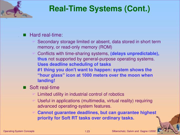 Real-Time Systems (Cont.)