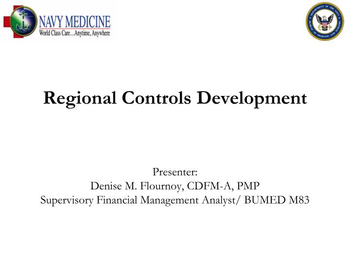 regional controls development n.