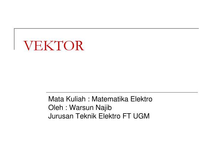vektor n.