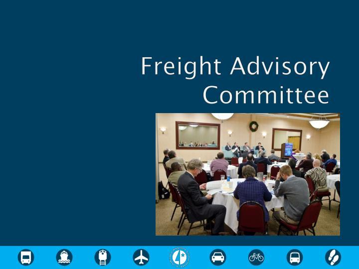 Freight Advisory Committee