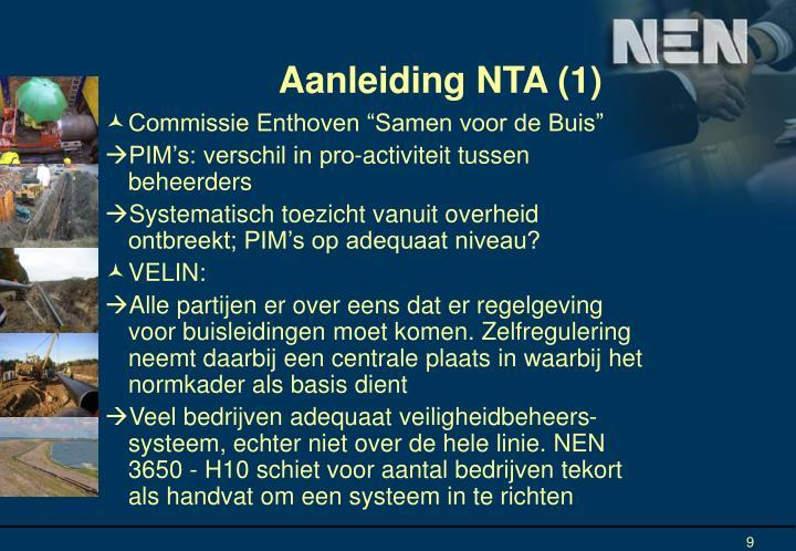 Aanleiding NTA (1)