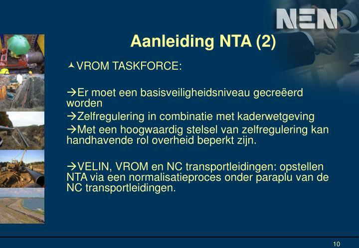 Aanleiding NTA (2)
