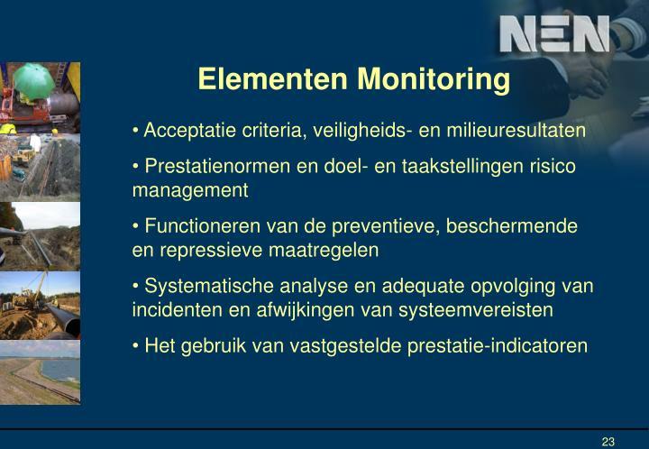 Elementen Monitoring