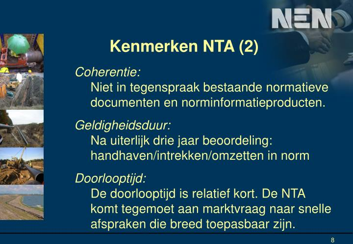 Kenmerken NTA (2)