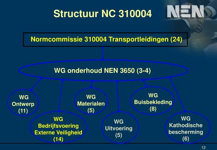 Structuur NC 310004