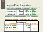 deferred tax liabilities6