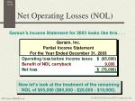 net operating losses nol3