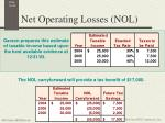 net operating losses nol4