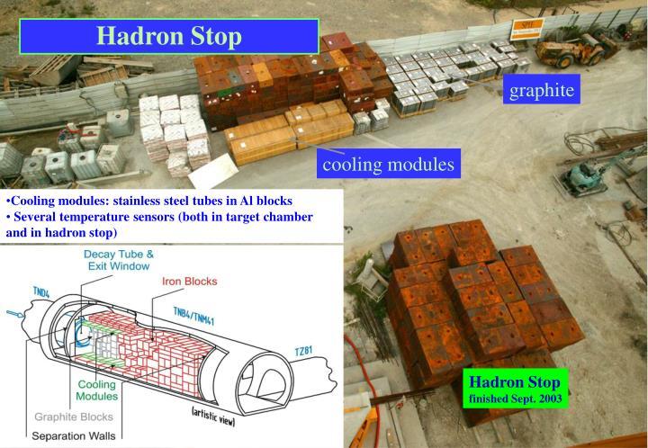 Hadron Stop