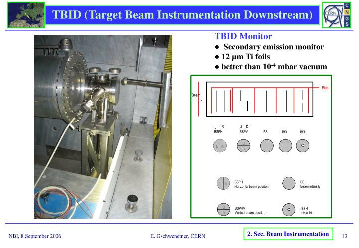 TBID (Target Beam Instrumentation Downstream)