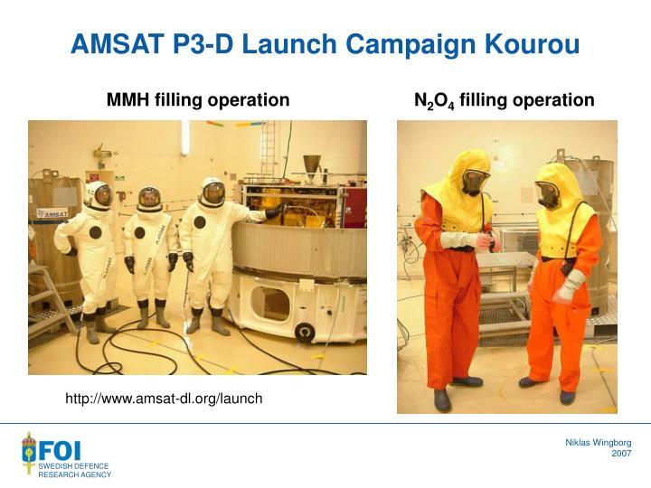 AMSAT P3-D Launch Campaign Kourou