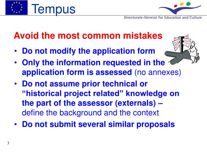 Avoid the most common mistakes