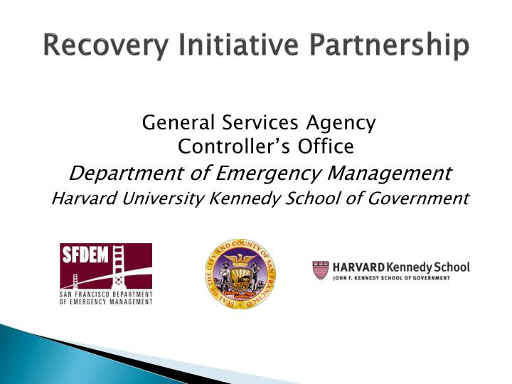 Recovery Initiative Partnership