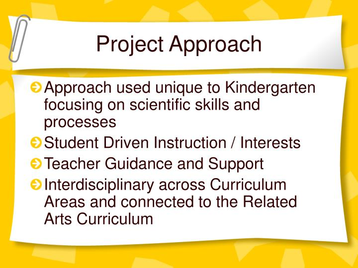 Project Approach